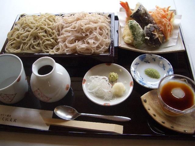 そば國御膳(桜きり)
