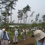 「希望の森づくり」植樹祭に参加しました!