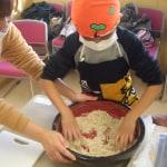蕎麦打ち体験教室